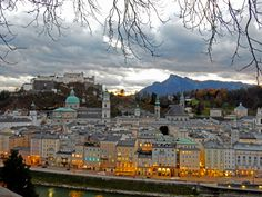 Discover some of Salzburg's known & unknown lookout points and vistas with this guide to the best views of Salzburg! Salzburg Austria, Last Minute Travel, Travel Channel, Central Europe, Travel News, Vacation Packages, Travel Agency, Nice View, Places To See