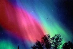 Northern Lights - Alaska I would love to see the northern lights!! Bucket list. Should have come up when you lived there!