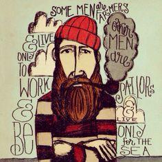 beard art beards bearded men man sailor sailors farmers farmer