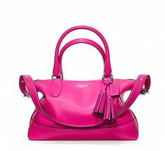 Vintage Coach Handbags For Sale | raw-edge tassels and the tubular handles found on vintage Coach ...