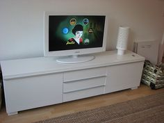 Tv cabinets tvs and cabinets on pinterest - Meuble tv besta burs ...