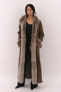 awesome sheepskin coat
