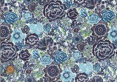 SOLD OUT - LIBERTY Liberty print fabric Tanaron <Langley> (Langley) 3632179-B 2012 spring and summer pattern