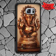 Gold Ganesha Samsung Galaxy S6 Edge Black Case