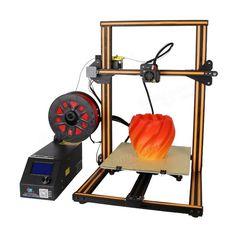 Creality DIY Printer Kit Printing Size With Z-axis Dual T Screw Rod Motor Filament Detector Nozzle, ,afflink Desktop Cnc, Desktop 3d Printer, 3d Printer Kit, 3d Printer Supplies, Printer Storage, Printing Supplies, Monitor, 3d Design Software, Prusa I3