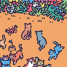Pictures To Draw, Print Pictures, Kawaii, Posca, Photo Wall Collage, Cute Cartoon Wallpapers, Cat Drawing, Cute Icons, Simple Art