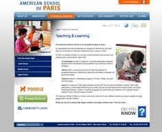 American School of Paris Community, Student, Teaching, Paris, American, School, Montmartre Paris, Paris France, Schools