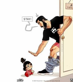 Famous Cartoon Couple Reveal Their Daughter In 9 Adorable Pics Cute Couple Comics, Couples Comics, Cute Couple Cartoon, Funny Couples, Cute Comics, Famous Cartoon Couples, Famous Cartoons, Relationship Cartoons, Couple Relationship