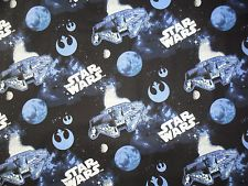 Star Wars fabric spaceship Millenium Falcon Lucasfilm Ltd. Camelot fabrics