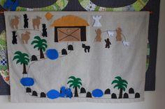 nativity advent calendar, story script to read each night!