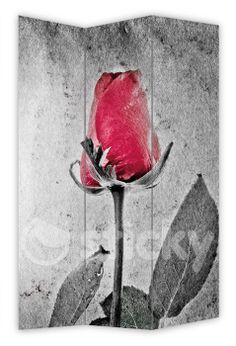Folding Screen RED ROSE by Sticky!!!