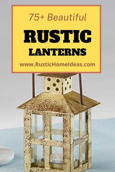 Rustic lanterns are a great accessory to decorate with and add a charming touch at a very low cost. View our large selection of styles, sizes and finishes. Find the perfect one for your design. Rustic Lanterns, Are You The One, Home Accessories, Your Design, It Is Finished, Touch, Beautiful, Decor, Style