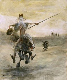 Don Quichotte by Marcel Nino Pajot