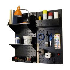 Wall Control 30-CC-200WW Craft Center Organizer - Wall Racks - Amazon.com