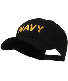 f23211174 Embroidered Military Cap Navy W38S57F CM11E8TXJA3. Fashion HatsMen ...