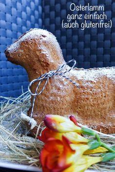 Du suchst gerade ein Osterlamm Rezept, das ganz einfach ist? Oder ein glutenfreies Osterlamm? Dann bist Du genau richtig! #osterlamm #glutenfrei #ostern #backen #glutenfreibacken Gluten Free, Easter, Meat, Food, Vegan Cake, Lactose Free Recipes, Happy Easter, Glutenfree, Easter Activities