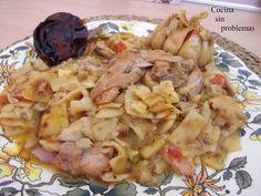 Cocina Sin Problemas: Gazpacho manchego Gazpacho Manchego, Spanish Cuisine, Murcia, Carne, Potato Salad, Potatoes, Chicken, Meat, Ethnic Recipes