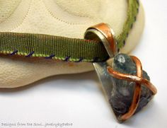 Rustic Mixed Metalwork Sterling Silver/Copper by jewelrybyDebra, $74.95