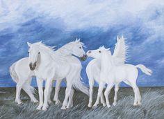 """""""Left behind"""" Acrylic 60 x 80 cm. Gabriela Boiero"""