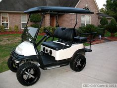 Recently Modified and Sold EZ-GO and Club Car Golf Carts