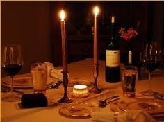 Candlelight dinners....several times per week!  ^_^