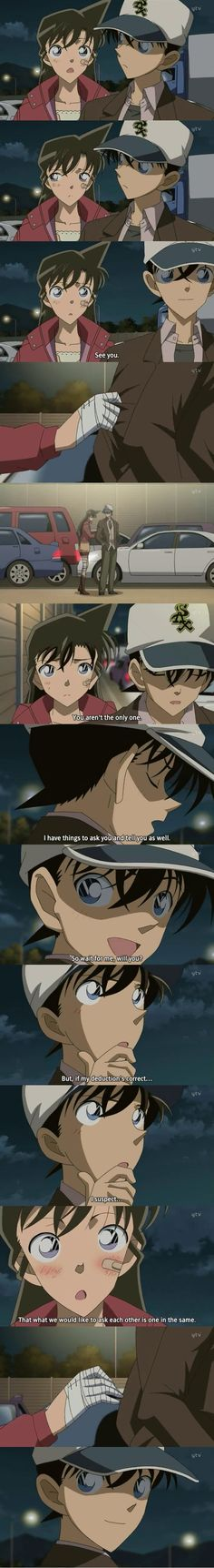 What she truly wants to ask - Shinichi and Ran