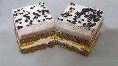 Šlahačkové kocky - recept Tiramisu, Food And Drink, Cake, Ethnic Recipes, Ideas, Kuchen, Tiramisu Cake, Thoughts, Torte