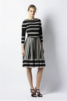 Ferragamo stripes dress