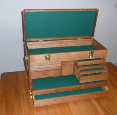 Classic Machinist's Chest - Reader's Gallery - Fine Woodworking