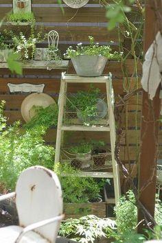 Junk & Natural Garden