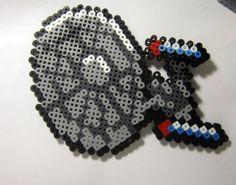 Star Trek Inspired Enterprise NCC 171D Perler Bead by GeeklyYours, $4.00