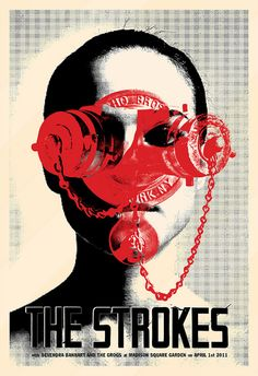 The Strokes music gig posters | Recent Photos The Commons Getty Collection Galleries World Map App ...