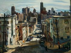 "William Jekel, ""San Pedro Street,"" 1947, watercolor on paper, 15 x 22 in. Hilbert Museum of California Art.  9_kosa_san_francisco.jpg"
