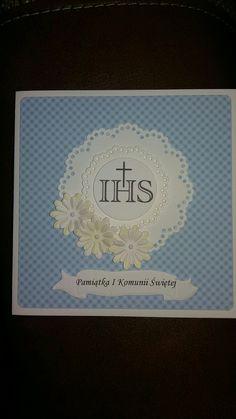First communion card... pamiątka I komunii
