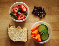 Low calorie packed lunch