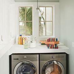 Laundry Room - Texas Coastal Idea House Tour - Southern Living