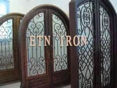 Double Front Entry Doors - Orleans Panel Design - Uninstalled ...