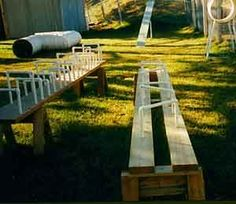 Build your own dog agility equipment