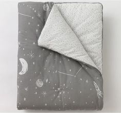 Galaxy Dove Play Blanket   Our soft play blankets are perfect anywhere - from the playroom floor to a toddler bed.