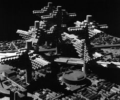 Poetry & Concrete (Cluster in the air, by Arata Isozaki,1960-62,...)