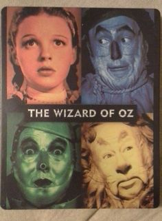 The Wizard of Oz (Blu-ray Disc, 2013) Steelbook