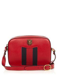 Animalier grained-leather cross-body bag   Gucci   MATCHESFASHION.COM UK