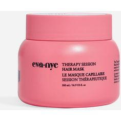 Eva Nyc Therapy Session Hair Mask ($15) ❤ liked on Polyvore featuring beauty products, haircare, eva nyc, hydrating mask and moisturizing mask