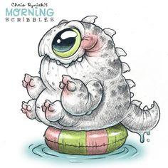 Waiting for Summer!  #morningscribbles