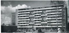 Berlin | Architektur. Interbau 1957. Pierre Vago