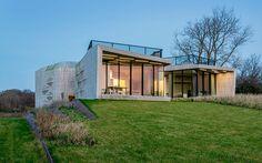 Современный частный дом W.I.N.D с панорамным видом от студии UNStudio (19 фото)