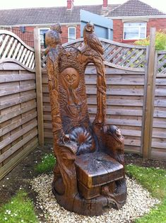 Tommy Craggs Tree Sculpting.