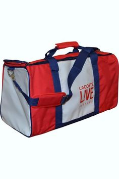 691a4fa604cc Lacoste Live Weekender Bag is a handy weekend accessory. This large holdall  comes with one