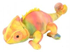 Mini Chameleon Cuddlekins at theBIGzoo.com, a toy store with over 12,000 products.