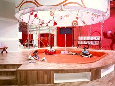 Kingston Library Milton Keynes UK Demco Interiors